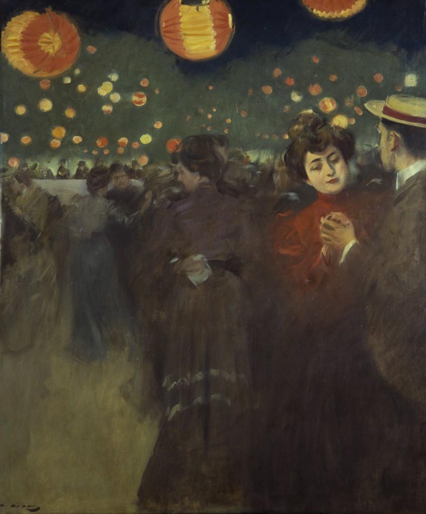 Open Air Party, Roman Casas (1902)
